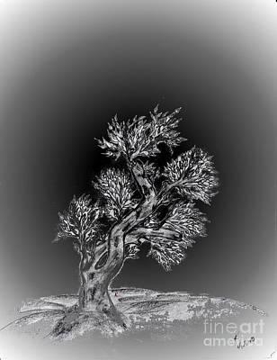 Lonesome Me Art Print by John Krakora