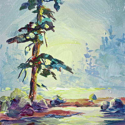 Painting - Lonesome Pine by Bonny Roberts