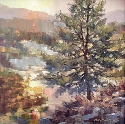 Painting - Lonesome Pine by Marty Coulter