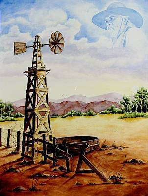 Painting - Lonesome Prairie by Jimmy Smith