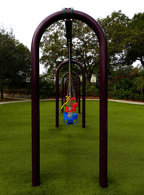 Photograph - Lonesome Swings by Chris Mercer