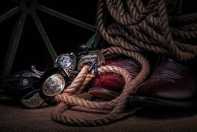 Cowboy Photograph - Lonestar Cowpoke by Tom Mc Nemar