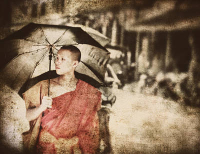Photograph - Long Ago In Luang Prabang by Cameron Wood