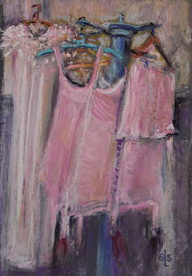 Pastel - Long Ago Lingerie  by Sandra Lee Scott