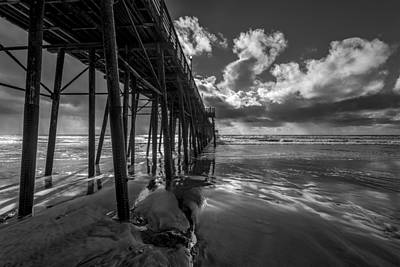 Oceanside Pier Photograph - Long And Deep by Peter Tellone