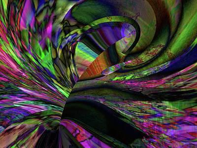Digital Art - Long And Winding Path by Richard Thomas