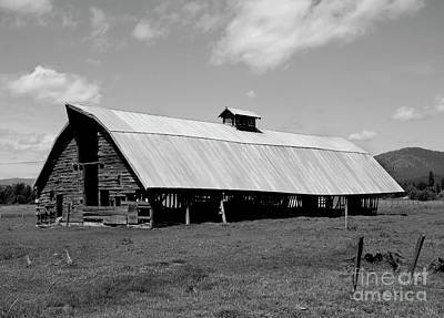 Photograph - Long Barn by Denise Bruchman
