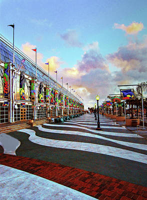 Photograph - Long Beach Convention Center by Joseph Hollingsworth