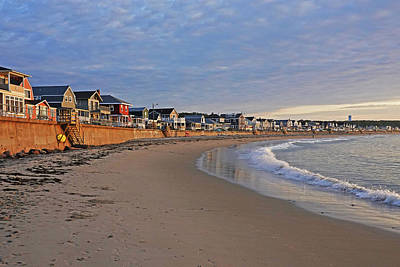 Photograph - Long Beach In Gloucester Ma Morning Light by Toby McGuire