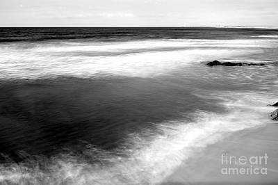 Photograph - Long Beach Island White Waves by John Rizzuto