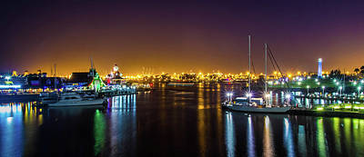 Photograph - Long Beach Marina by April Reppucci