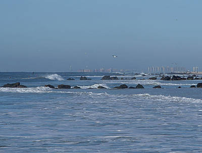 Photograph - Long Beach by Newwwman