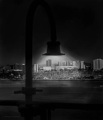 Photograph - Long Beach Noir by Denise Dube