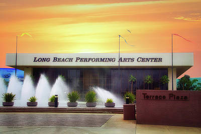 Photograph - Long Beach Performing Arts Center by Thomas Woolworth