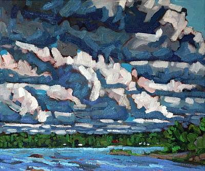 Painting - Long Before The Storm by Phil Chadwick