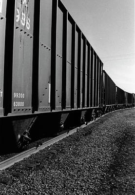 Art Print featuring the photograph Long Black Train by Tara Lynn
