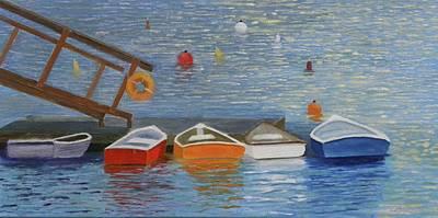 Long Cove Dock Art Print