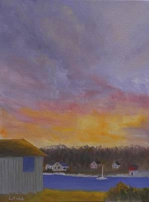 Long Cove Sunrise Art Print