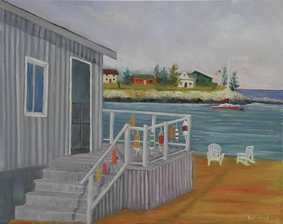 Long Cove View Art Print