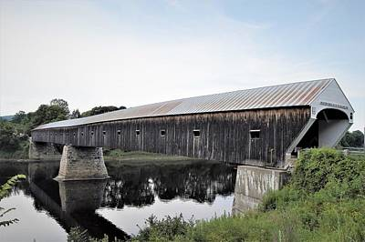 Photograph - Long Covered Bridge by Charles HALL