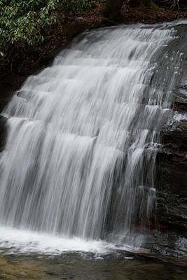 Photograph - Long Creek Falls by Paul Rebmann