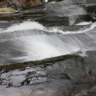 Photograph - Long Creek Falls Swoosh by Paul Rebmann