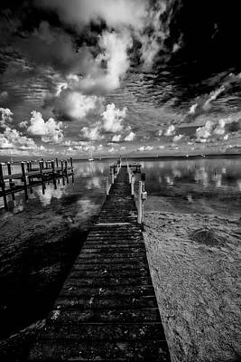 Photograph - Long Dock by Kevin Cable