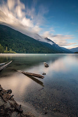 Photograph - Long Exposure At Birkenhead Lake by Pierre Leclerc Photography