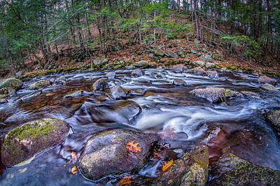 Photograph - Long Exposure Nh by Bob Bernier