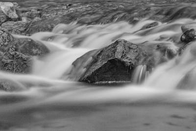 Photograph - Long Exposure The Narrows Zion  by John McGraw