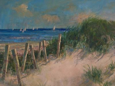 Long Island Dunes Art Print