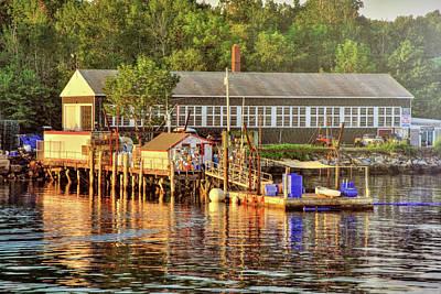 Photograph - Long Island Harbor - Maine by Joann Vitali