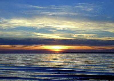 Photograph - Long Island Sunset by Newwwman