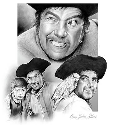 Long John Silver Art Print by Greg Joens