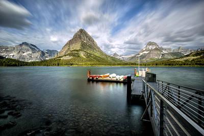 Photograph - Long Lake by David Andersen