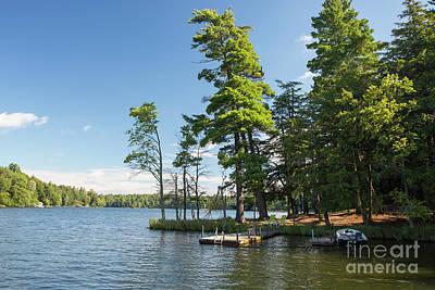 Photograph - Long Lake Morning by Kevin McCarthy