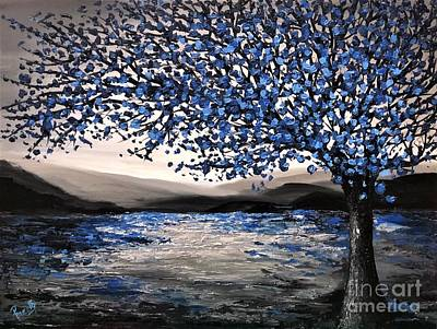 Painting - Long Life 2 by Preethi Mathialagan