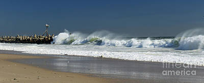 Photograph - Long Line Of Ocean Fury by Mary Haber