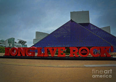 Photograph - Long Live Rock by Janice Rae Pariza