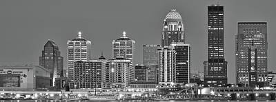 Photograph - Long Monochrome Louisville by Frozen in Time Fine Art Photography
