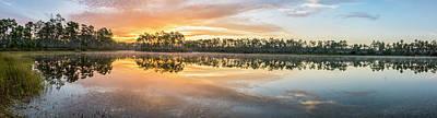 Florida House Photograph - Long Morning by Jon Glaser