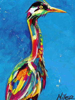 Painting - Long Neck by Tracy Miller