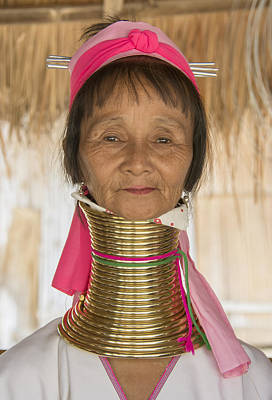 Photograph - Long Necked Karen Woman by Wade Aiken