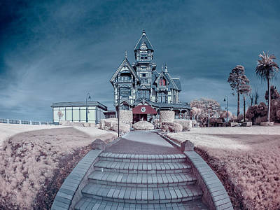 Photograph - Long Pathway To Carson Mansion by Greg Nyquist