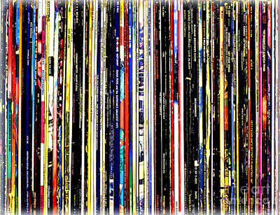 Photograph - Long Play Vinyl by Patti Whitten