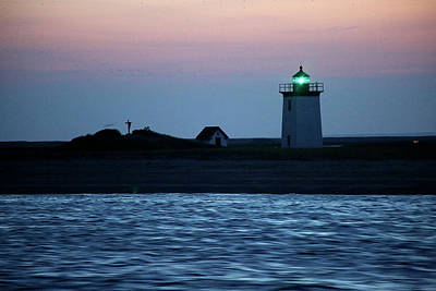 Photograph - Long Point Lighthouse by Thomas Sweeney