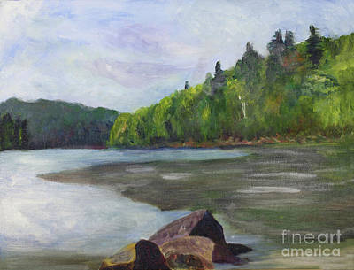 Painting - Long Pond In Westmore by Donna Walsh
