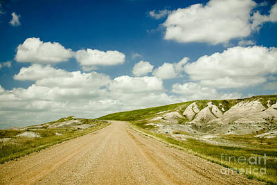 Photograph - Long Road Ahead by Sandy Adams