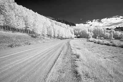 Long Road In Colorado Art Print