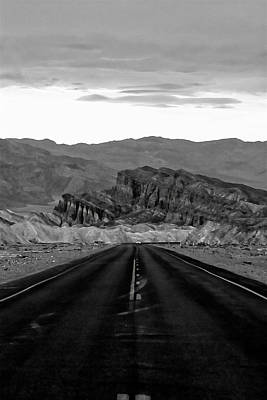 Photograph - Long Road Into Death Valley by Hugh Smith